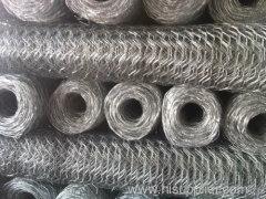 hexagonal wire netting gabion