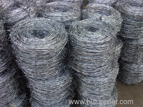 galvanized barbed razor wires