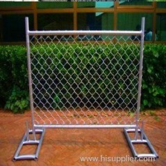 electro-galvanized diamond chain link fences