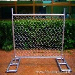 electro-galvanized diamond chain link fences
