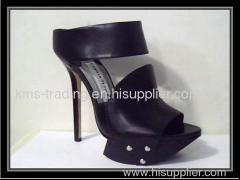Platform lady high heel fashion sandals, dress shoes