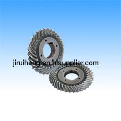 OEM large diameter helical bevel gear