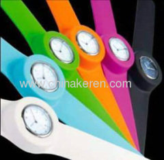 Hot Sell Fashion Silicone slap watchs
