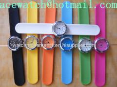silicone watch (silica gel watches) slap band watch J
