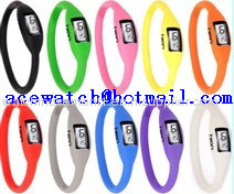 silicone watch (Ion watch) silica gel wristwatches slap band watch M