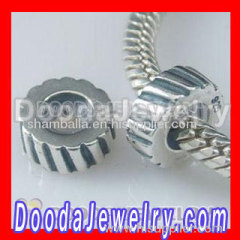 sterling silver stopper beads european style