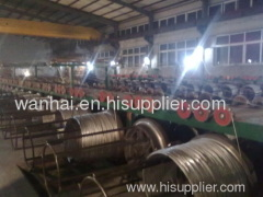 high tensile orchard support wires
