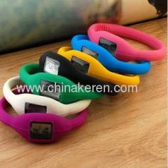 Hot Sell Fashion Ion Silicone watch