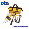 32PC general purpose kit for the home with Utility yellow Tool Bag