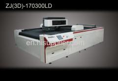 laser operation cloth cutting machine