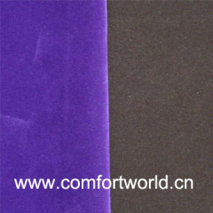 Synthetic PU Suede Leather
