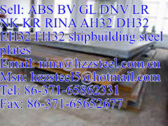 ABS AH32/ABS DH32/ABS EH32/ABS FH32 shipbuilding steel plate