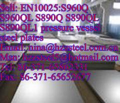 EN10025:S890Q S890QL S890QL1 pressure vessel steel plates