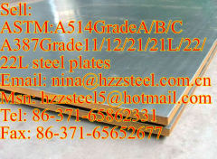 ASTM:A514GrA/A514GrB/A514GrC steel plates