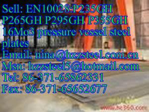 EN10028:P355N P355NH P355NL1 P355NL2 pressure vessel steel plates