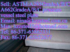 ASTM:A285GrA/A285GrB/A285GrC A662GrA/A662GrB/A662GrC pressure vessel steel plate
