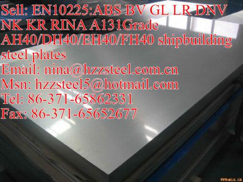 EN10225:BV A131GrAH32/DH32/A131GrEH32/FH32 marine steel plate