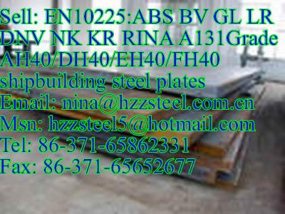 EN10225:ABS A131GrAH36/DH36/A131GrEH36/FH36 marine steel plate