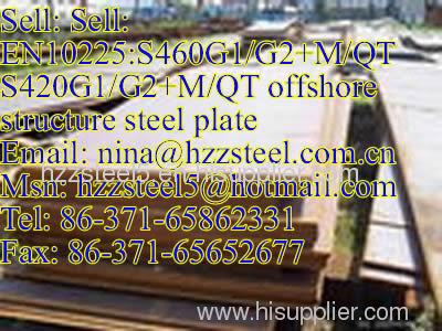EN10225:S420G1/G2+M/QT offshore structure steel plate