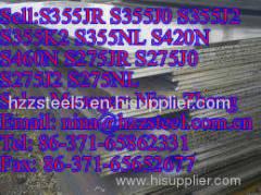EN10025:S355JR S355J0 S355J2 S355K2 S355NL low-alloy high-strength steel plates