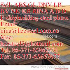RINA GrA/RINA GrB/RINA GrD/RINA GrE shipbuilding steel plate/marine steel plate