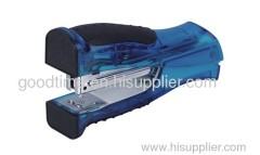 Blue fashion plastic stapler