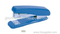New blue plastic stapler