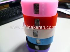 hot sell newest silicone colored watch
