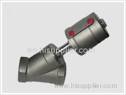stainless steel angle seat valves