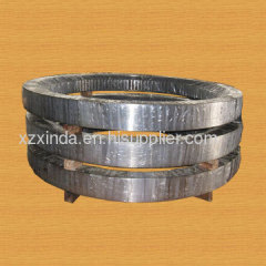 Three-row roller slewing ring bearing
