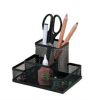 Four function desk pen holder