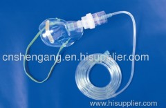 Medical nebulizer mask/mask with nebulizer