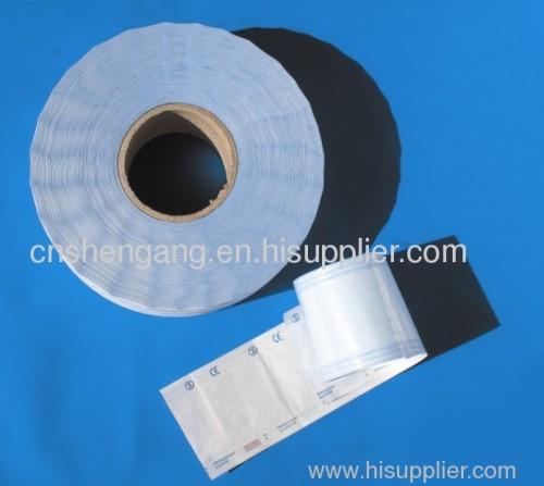 Medical sterilization roll pouch