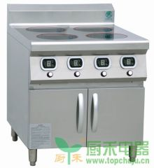 Four burners induction countertop stove