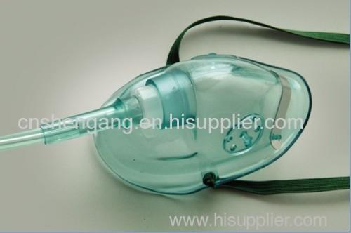 Medical disposable oxygen face mask