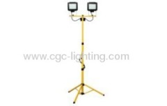 2*4W 2*60 LED twin head tripod working light