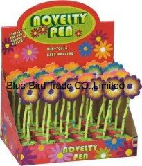 Flower ballpoint pen