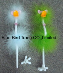 flamingo bowknot pens