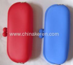 silicone red Sunglasses Case