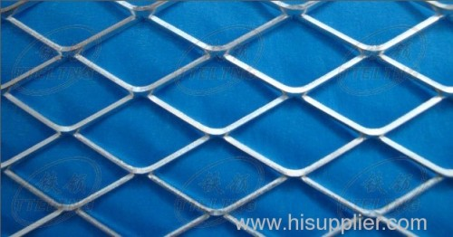 Galvanized Flattened Expanded Metal sheets