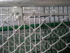 diamond opening chain-wire fence