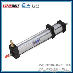 hydraulic damping pneumatic cylinder