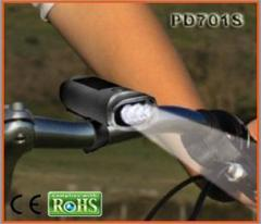 Multi-function led bicycle lights rechargeable