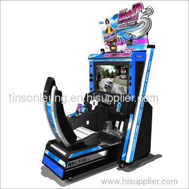 Driving game machine Initial D5
