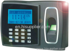 Secubio TC250- Standalone fingerprint & RFID card time attendance and access control reader