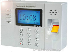 Secubio TA101- Office time recorder with fingerprint & RFID card attendance system
