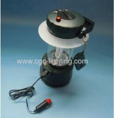 9W Rechargeable fluorescent Camping Lantern