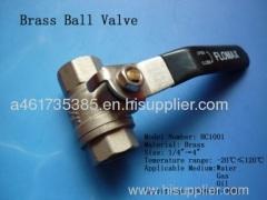 Brass Ball Valve brass water ball valve