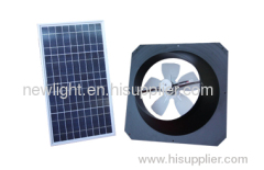 solar ventilation fan solar exhaust fan
