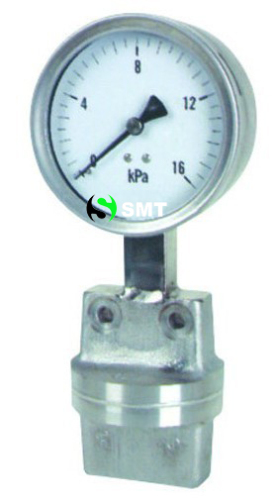 Differential Pressure Gauge With Diaphragm Element - 2